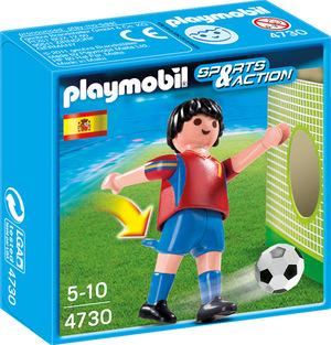 playmobil Fussballspieler Spanien 4730A1