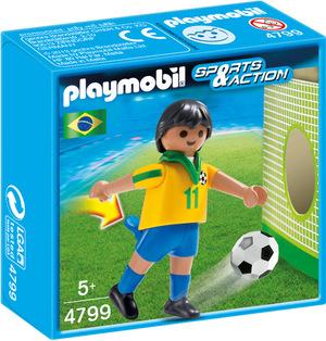 playmobil Fussballspieler Brasilien 4799A1