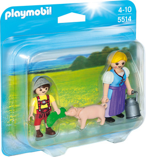 playmobil Duo Pack Bäuerin und Junge 5514A1