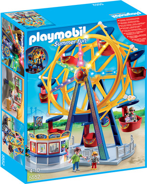 playmobil Riesenrad mit bunter Beleuchtung 5552