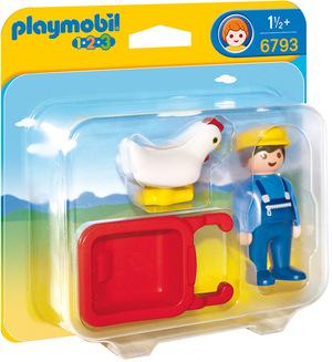 playmobil Bauer mit Schubkarre 6793