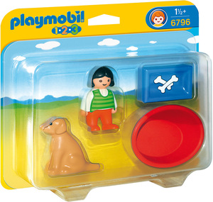 playmobil playmobil Mädchen mit Hund 6796