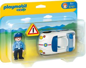 playmobil playmobil Polizeiauto 6797