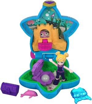 polly pocket Mini-Schatulle Pollys Aquarium FRY33