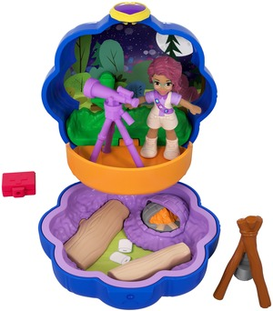 polly pocket Tiny Pocket Places Shanis Camping Abenteuer FWN40