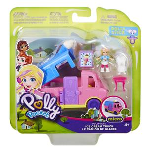 polly pocket Eiswagen Pollyville, Puppe Polly, Zubehör, ab 4+ 57007340