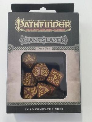 Q-Workshop Pathfinder Giantslayer Dice Set (7) QWOPAT73