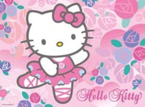 Ravensburger Ravensburger Puzzle Liebe Hello Kitty 100 Teile XXL, 49x36 cm, extra grosse Teile ab 108947