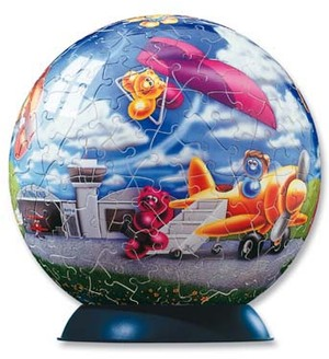Ravensburger Puzzleball Gelini Flugtag 240 Teile 11014