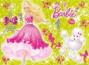 Ravensburger Ravensburger Puzzle Glitzernde Barbie 100 Teile XXL mit Glitter, 49x36 cm, ab 6 Jahren 136254