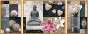 Ravensburger Puzzle Wellness 1000 Teile, Triptychon, 23.5+51+23.5x38 cm 199921