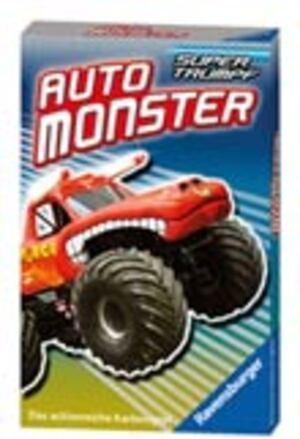 Ravensburger Quartett Auto Monster 7-99 Jahre, 32 Karten, zum Thema Monster-Autos 203048