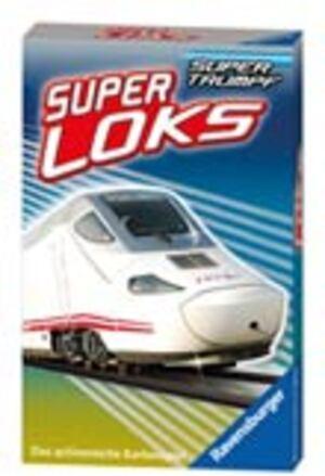 Ravensburger Quartett Super Loks, d 7-99 Jahre, 32 Karten, zum Thema Zug 203086