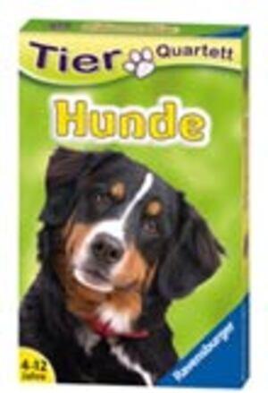 Ravensburger Quartett Hunde, d ab 4 Jahren, 32 Karten, zum Thema Hunderassen 204205