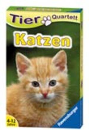 Ravensburger Quartett Katzen, d ab 4 Jahren, 32 Karten, Ravensburger 204212