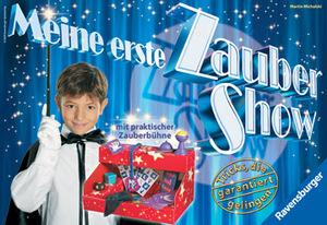 Ravensburger Meine erste Zaubershow, d ab 6 Jahren, 1 Spieler Zauberkasten für Kinder 219391