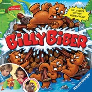 Ravensburger Billy Biber d/f/i ab 4 Jahren, 1-4 Spieler, Spieldauer ca. 15 Min. 222490