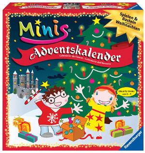 Ravensburger Adventskalender RavensburgerB mini 229970