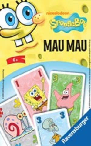 Ravensburger Mau Mau Sponge Bob, d/f/i ab 6 Jahren, 2-7 Spieler Spieldauer 15 Min. 232109