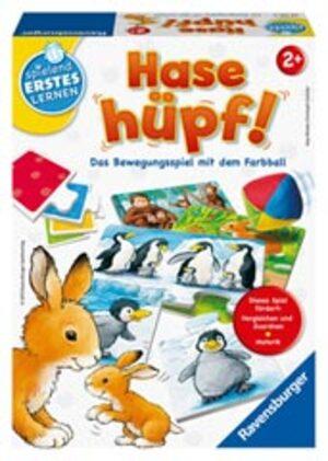 Ravensburger Hase hüpf, d ab 2 Jahren, 1-4 Spieler, Bewegungsspiel 247356