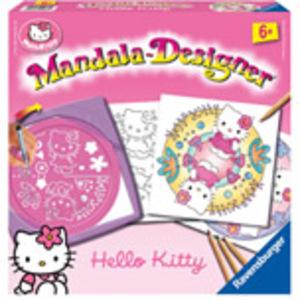 Ravensburger Mandala 2 in 1 Hello Kitty ab 6 Jahren, 2 Schablonen für noch mehr Möglichkeiten 299928