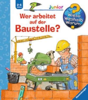 Ravensburger Wer arbeitet a.d. Baustelle Wieso? Weshalb? Warum? Junior ab 2 Jahren, 18x19 cm 66232640