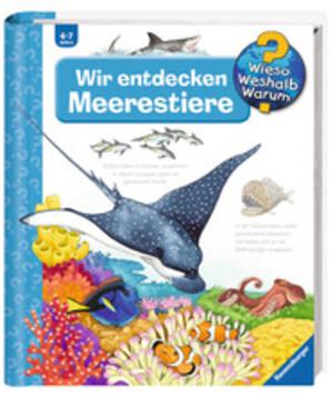 Ravensburger Wir entdecken Meerestiere Wieso? Weshalb? Warum? ab 4 Jahren, 24x27 cm 66232643