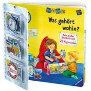 Ravensburger Was gehört wohin? Ministeps Magnetspielbuch, ab 24 Monaten, 22.5x22.5 cm 43217