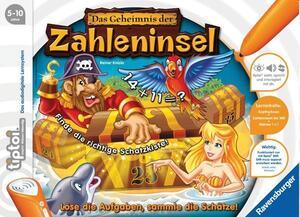 Ravensburger Tiptoi Geheimnis Zahlenins,d 5-10 Jahre, 1-4 Spieler, Stift nicht enthalten Ravensburger;5123