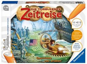 Ravensburger Tiptoi Turbulente Zeitreise 7-10 Jahre, 1-4 Spieler, Stift nicht enthalten 5277A1