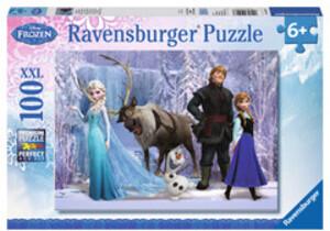 Ravensburger Puzzle Reich d.Schneekönigin 100 Teile XXL, 49x36 cm, extra grosse Teile ab 6+ 60010516