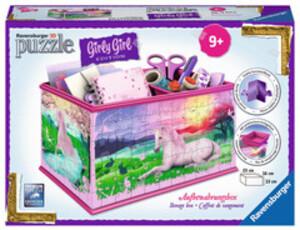 Ravensburger Ravensburger Puzzle 3D Box Einhörner Girly Girl Edition, 216 T. 23x14 cm, ab 9 Jahren 60012071