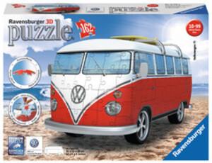 Ravensburger Puzzle 3D VW Bus T1 162 Teile, 30x14x15 cm, ab 10 Jahren 60012516