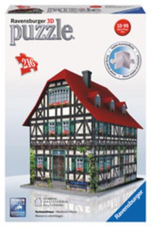 Ravensburger Puzzle 3D Fachwerk 216 Teile Kunststoff, ab 10 Jahren, 18x23x24 cm 60012572