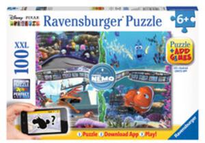 Ravensburger Ravensburger Puzzle App, Findet Nemo 100 Teile XXL, 49x36 cm, mit App Games, ab 6 Jahr 60013661