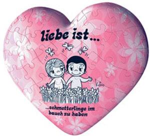 """Ravensburger Puzzleball Herz """"Liebe ist""""D 60 Teile, verschiedene Motive 60084195"""