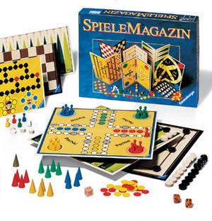 Ravensburger Spielmagazin, d ab 6 Jahren, 2-4 Spieler, grosse Spielesammlung 60226301