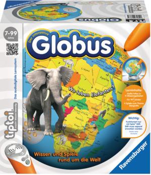 Ravensburger Tiptoi Interaktiver Globus d ø 23 cm, Stift exkl. 7-99 Jahre 60500787