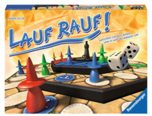 Ravensburger Ravensburger Lauf rauf, d 8-99 Jahre, 2-4 Spieler, Würfelspiel, Dauer 30 Min. 60526616