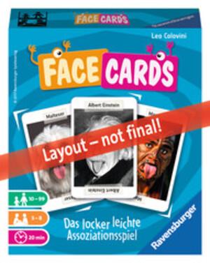 Ravensburger Facecards, d/f/i 10-99 Jahre, 3-8 Spieler, Partyspiel 60526675
