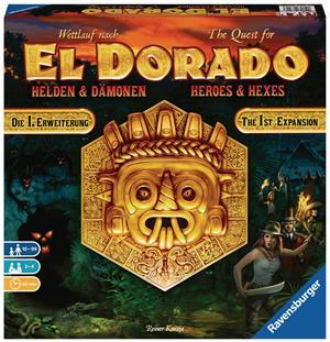 Ravensburger El Dorado Helden & Dämonen d 1. Erweiterung, neue Karten, ab 10 Jahren, 2-4 Spieler 60526790