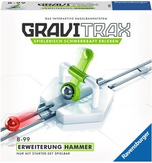 Ravensburger GraviTrax Hammerschlag,d/f/i Erweiterung zu Kugelbahn Bausystem, ab 8+ 60527592