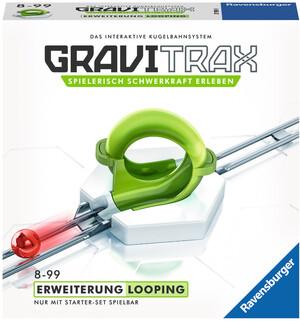 Ravensburger GraviTrax Looping, d/f/i Erweiterung zu Kugelbahn Bausystem, ab 8+ 60527593