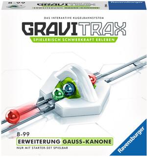 Ravensburger GraviTrax Gauss Kanone,d/f/i Erweiterung zu Kugelbahn Bausystem, ab 8+ 60527594
