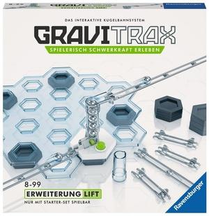 Ravensburger GraviTrax Lift, d/f/i Erweiterung zu interaktivem Kugelbahnsystem, ab 8+ 60527611