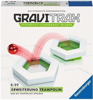 Ravensburger GraviTrax Trampolin, d/f/i Erweiterung zu interaktivem Kugelbahnsystem, ab 8+