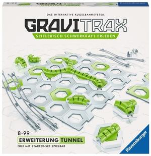 Ravensburger GraviTrax Tunnel, d/f/i Erweiterung zu interaktivem Kugelbahnsystem, ab 8+
