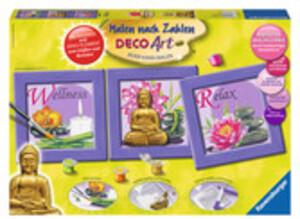 Ravensburger Malset Buddha Malen nach Zahlen Deco-Art, mit Dekoelement zum Giessen 64728970