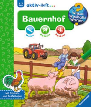 Ravensburger Bauernhof, Aktiv-Heft Wieso? Weshalb? Warum? ab 4 Jahren, 24x27 cm 66232690