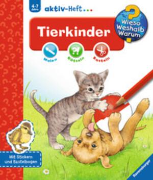 Ravensburger Tierkinder, Aktiv-Heft Wieso? Weshalb? Warum? ab 4 Jahren, 24x27 cm 66232693